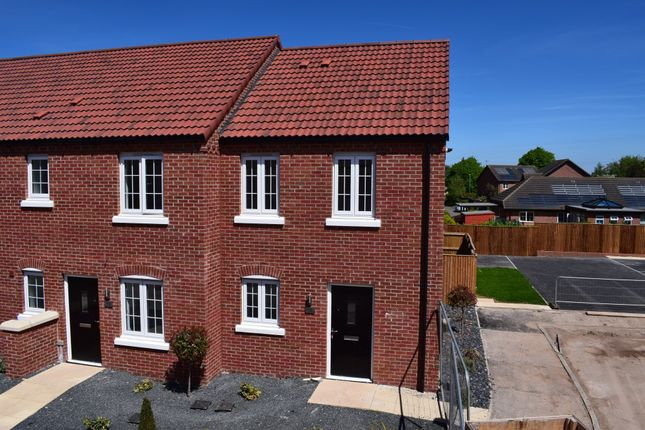 Thumbnail End terrace house for sale in 15 Thornfield Way, Aslockton