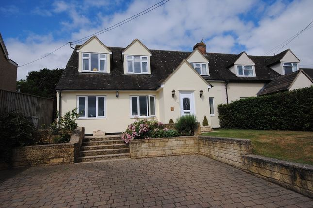 Thumbnail Semi-detached house for sale in School Road, Finstock, Chipping Norton