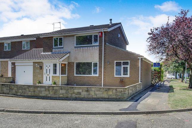 Thumbnail Detached house for sale in Romsey Close, Cramlington