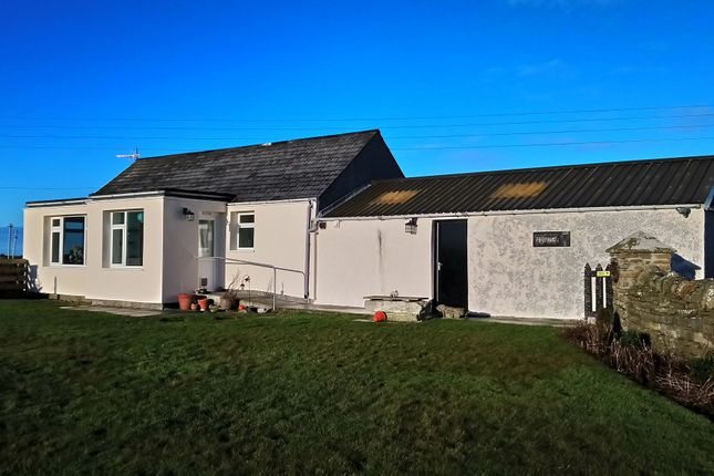 Thumbnail Detached bungalow for sale in Lady Village, Sanday, Orkney