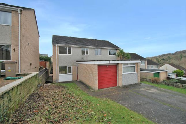Thumbnail Semi-detached house to rent in Tamerton Close, Plymouth