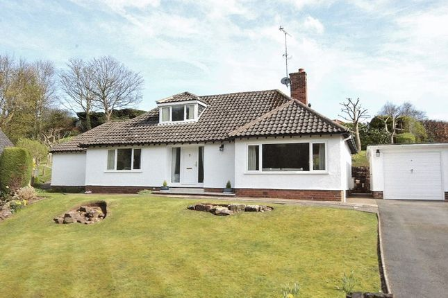 Thumbnail Detached bungalow for sale in Bush Way, Lower Heswall, Wirral