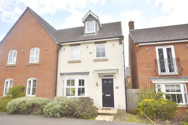 Thumbnail Semi-detached house for sale in Wellow Lane, Peasedown St John, Bath