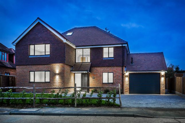 Thumbnail Detached house for sale in Orchard Drive, Horsell, Woking