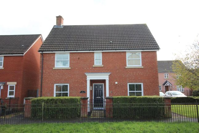 Thumbnail Detached house to rent in Moorhayes Area, Tiverton, Devon