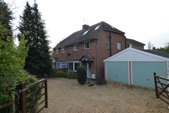 Thumbnail Semi-detached house for sale in Hill Estate, Houghton, Huntingdon