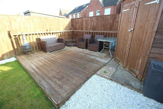 Decking of Parish Gardens, Leyland PR25
