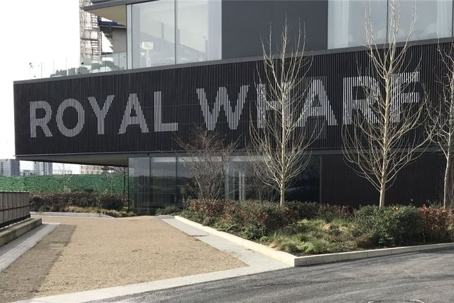 Thumbnail Flat for sale in Barrier Building, Royal Wharf, Royal Docks, London