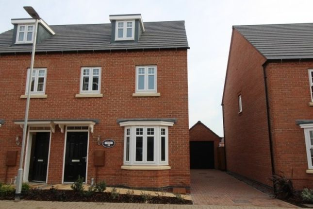 Thumbnail Semi-detached house to rent in Tamworth Close, Barrowby Edge, Grantham