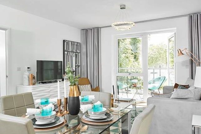 Thumbnail Flat for sale in Sapphire Gate At Kings Park, St Clements Avenue, Harold Wood, Romford