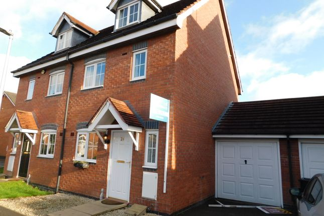 Thumbnail Town house to rent in Pickering Way, Stapeley, Nantwich