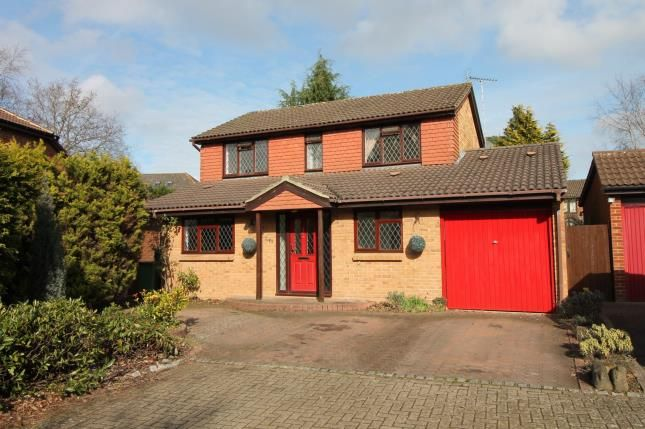 Thumbnail Detached house for sale in Frimley, Camberley, Surrey