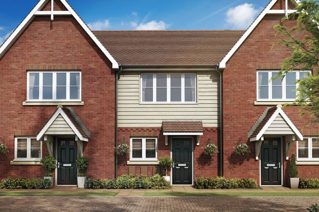 Thumbnail End terrace house for sale in St Georges Road, Badshot Lea, Farnham