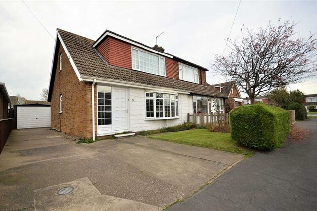 Thumbnail Bungalow for sale in Hawkins Way, South Killingholme, Immingham