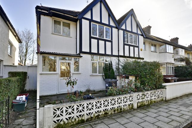 Thumbnail End terrace house to rent in Manor Gardens, London