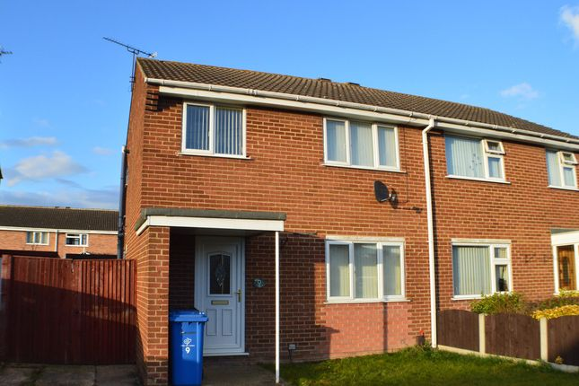 Thumbnail Semi-detached house to rent in Melrose Close, Sinfin, Derby