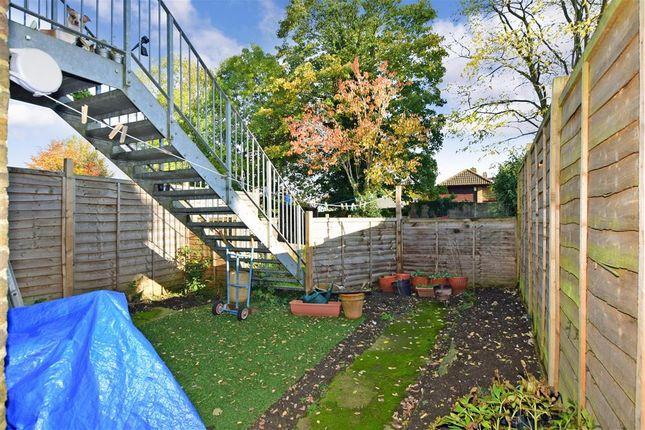 Rear Garden of Hastings Road, Maidstone, Kent ME15