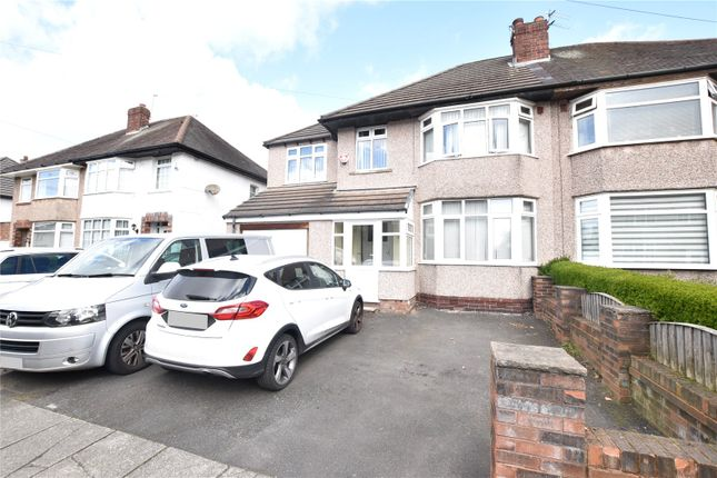 Semi-detached house for sale in Meadway, Wavertree Garden Suburb, Liverpool