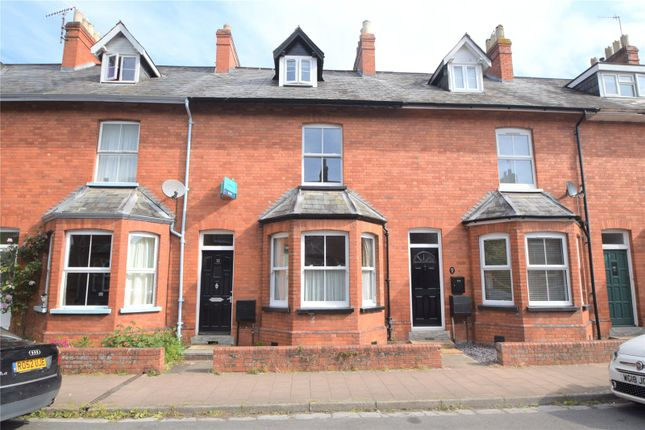 Thumbnail Terraced house to rent in Queen Street, Tiverton, Devon