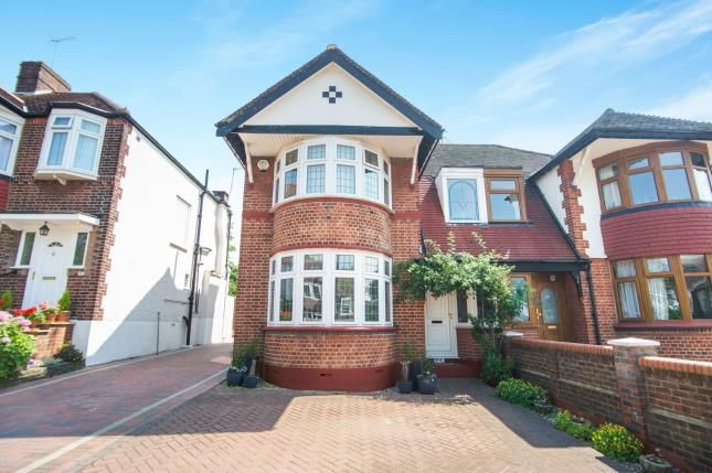 Thumbnail Semi-detached house for sale in The Birches, Grange Park, London