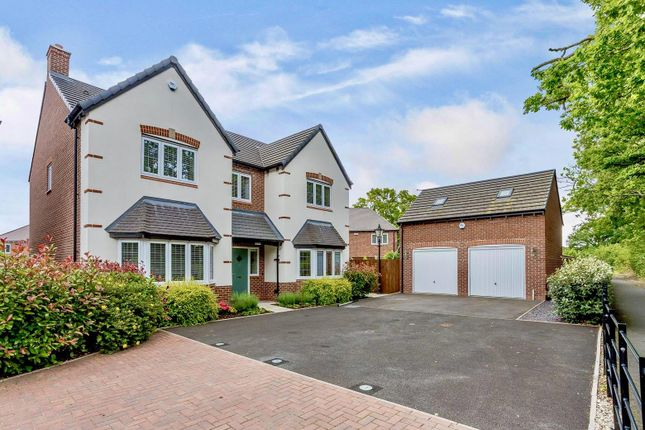 Thumbnail Detached house for sale in Marlpit Close, Dickens Heath, Solihull