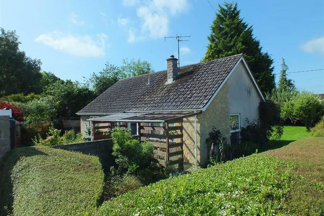 Thumbnail Detached bungalow for sale in Newleaze Park, Broughton Gifford, Melksham, Wiltshire