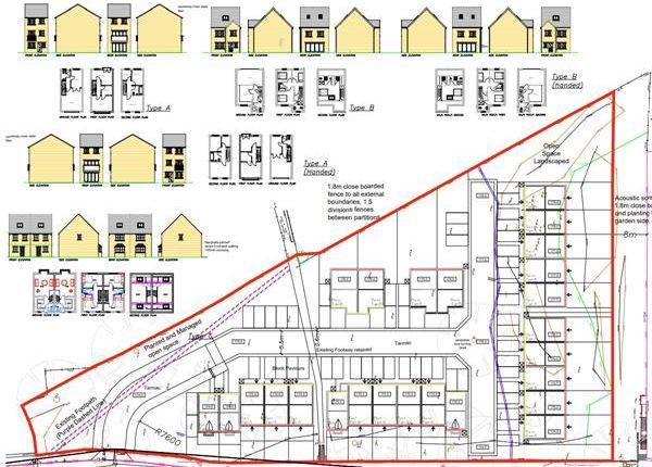 Thumbnail Land for sale in Land Adjacent To Emstead Works, Old Lane, Halifax