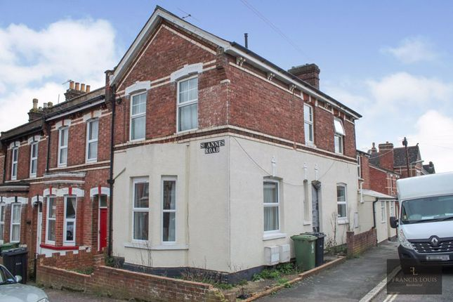 Thumbnail Flat to rent in St. Annes Road, Exeter