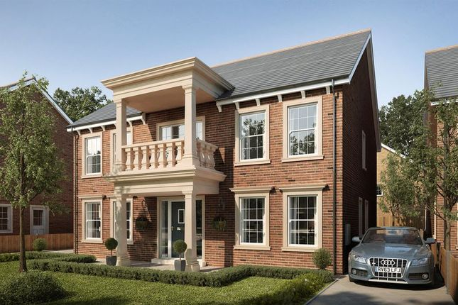Thumbnail Detached house for sale in Plot 74, Mansion Gardens, Penllergaer, Swansea
