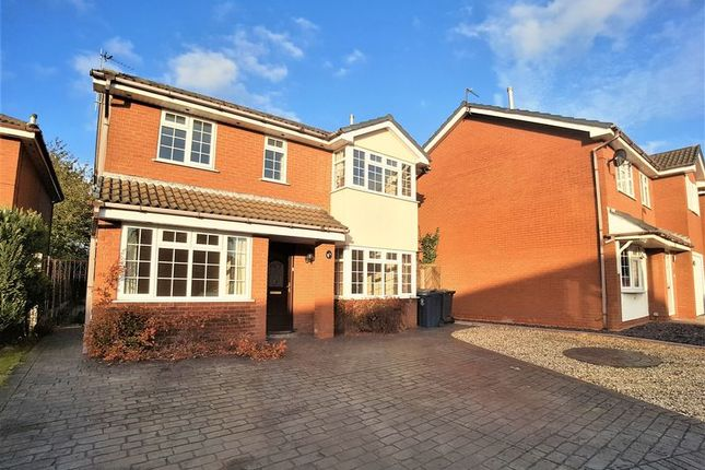 Thumbnail Detached house for sale in Harding Road, Burscough, Ormskirk