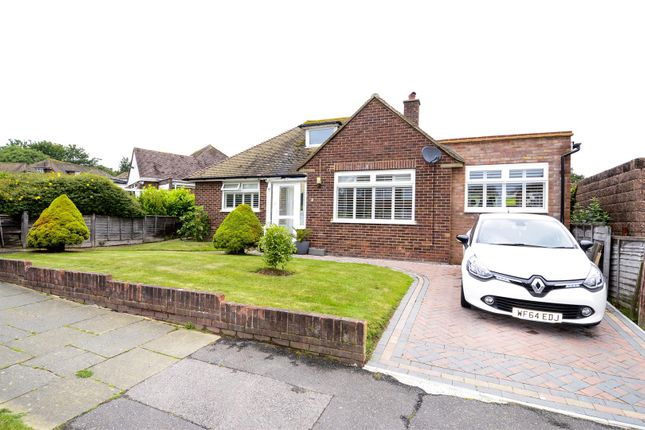 Thumbnail Detached bungalow for sale in Woodsgate Park, Bexhill-On-Sea