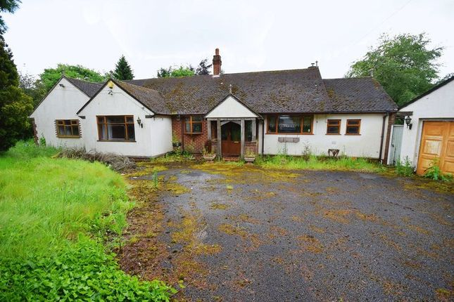 Thumbnail Detached bungalow for sale in Caverswall Common, Caverswall, Stoke-On-Trent