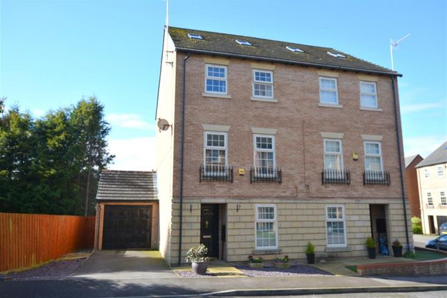 Thumbnail Town house for sale in Hartfield Close, Hasland, Chesterfield