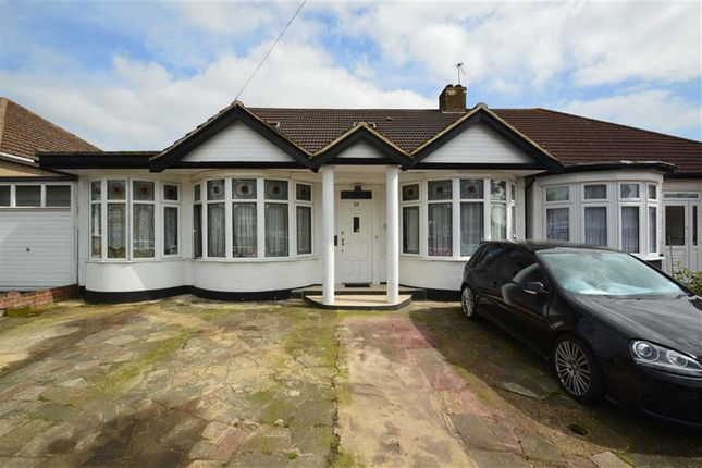 Thumbnail Semi-detached bungalow for sale in Whitney Avenue, Redbridge, Essex