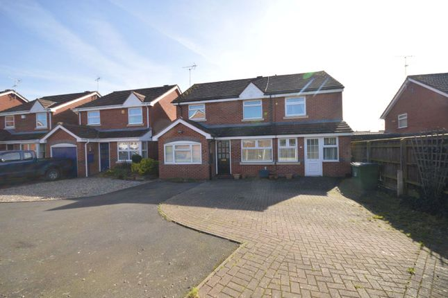 Thumbnail Detached house for sale in Stevenson Gardens, Cosby, Leicester