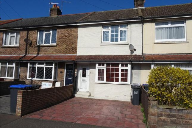 Thumbnail Terraced house for sale in Leigh Road, Broadwater, Worthing