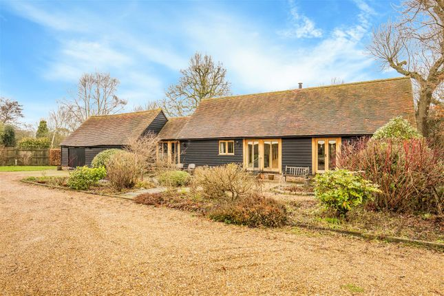 Thumbnail Barn conversion for sale in Hever Road, Hever, Edenbridge
