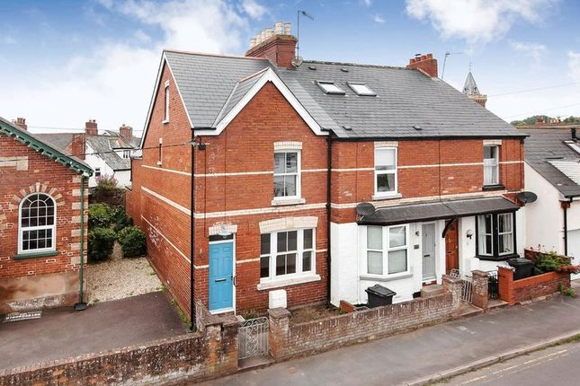 Thumbnail Terraced house for sale in Chapel Road, Lympstone, Exmouth