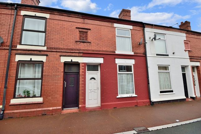 Thumbnail Terraced house to rent in Oxford Street, Latchford, Warrington