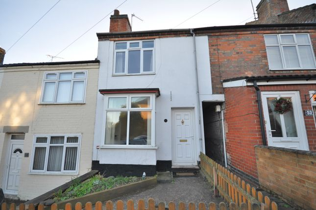 Thumbnail Terraced house to rent in Lower Outwoods Road, Burton-On-Trent