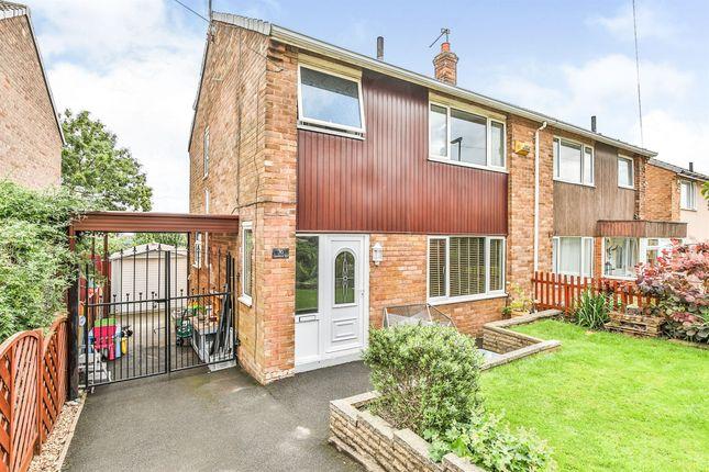 Thumbnail Semi-detached house for sale in Grenfolds Road, Grenoside, Sheffield