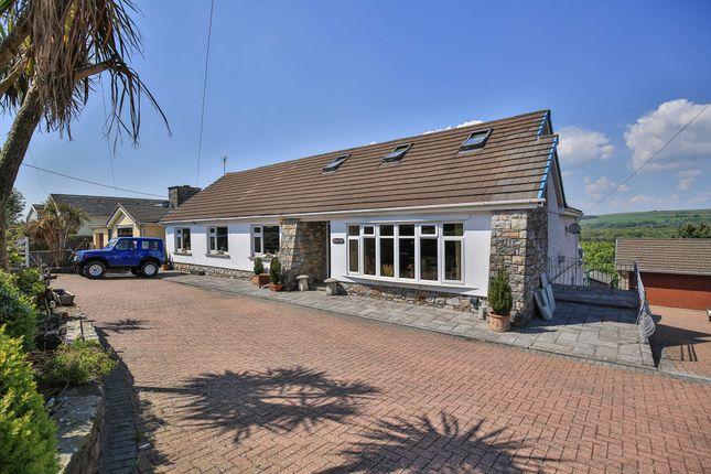Thumbnail Detached house for sale in John Street, Cefn Cribwr, Bridgend