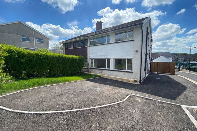 Thumbnail Semi-detached house for sale in Danygraig Crescent, Talbot Green, Pontyclun