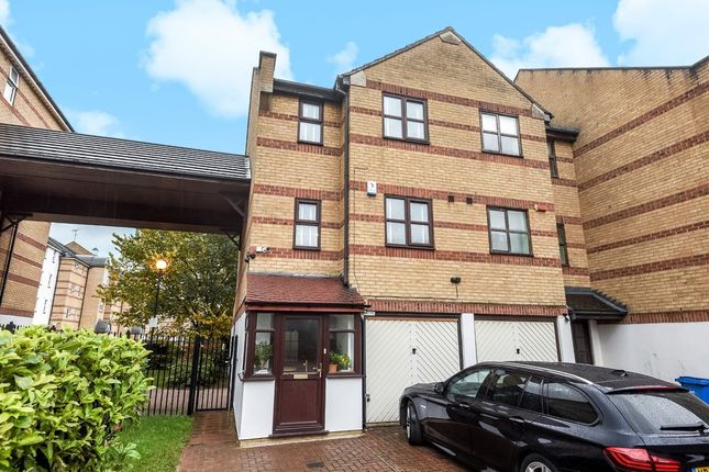Thumbnail End terrace house for sale in Transom Close, London