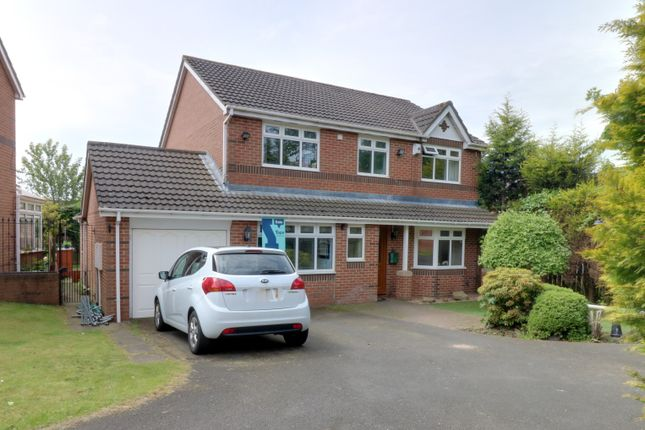 Thumbnail Detached house for sale in Stonefold Close, Westerhope, Newcastle Upon Tyne
