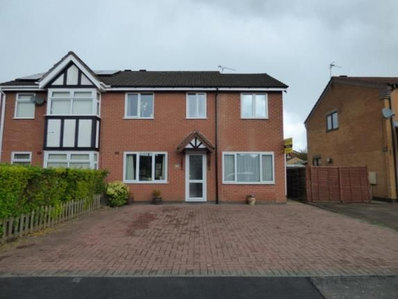 Thumbnail Semi-detached house for sale in Paddock View, Syston, Leicester, Leicestershire