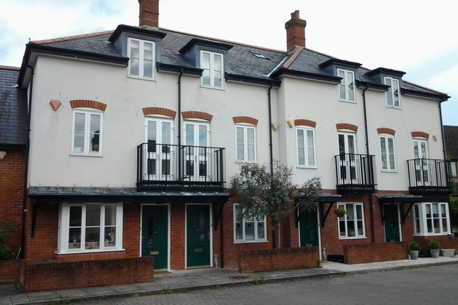 Thumbnail Terraced house to rent in Towngate Mews, Christchurch Road, Ringwood