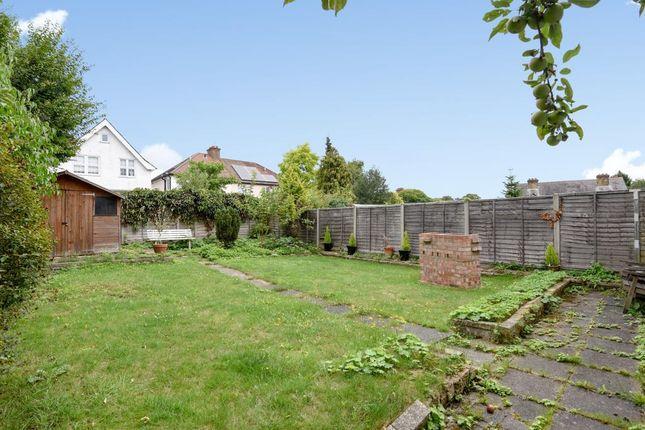 Garden of Eversleigh Road, New Barnet EN5