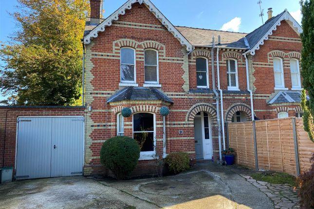 Thumbnail Semi-detached house for sale in Cliddesden Road, Basingstoke