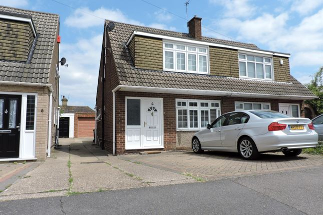 Thumbnail Semi-detached house to rent in Beult Road, Crayford, Dartford